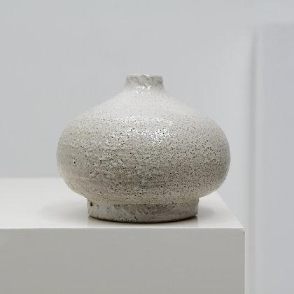 Heavy Stoneware Molten Glaze Vase - American Studio Craft, c. 1977