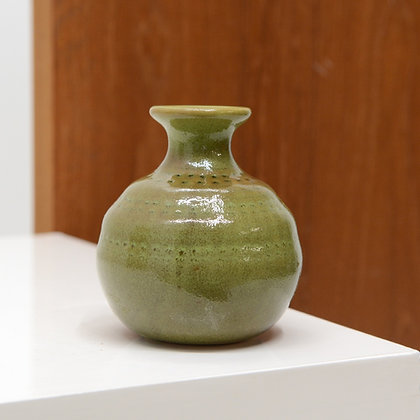 Art Pottery Bud Vase , Japan c. late 1970s