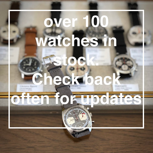Over 100 vintage watches in stock, check back often for updates