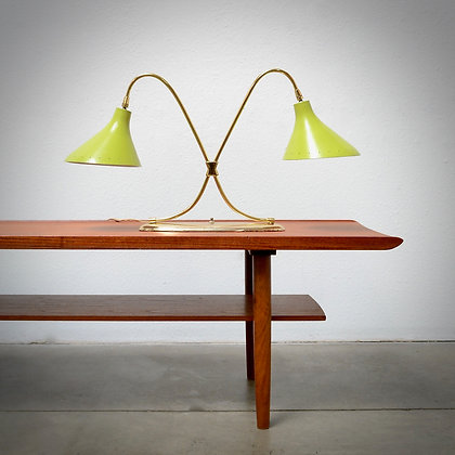 Twin Shade Table Lamp - Laurel Lamp Co c. 1960s