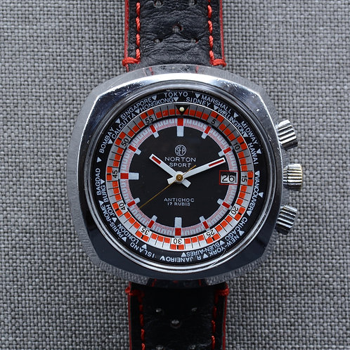 Norton Sport World Time Rally Diver c. 1970s