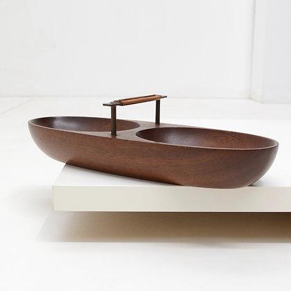 Nut Bowl, Carl Auböck, Austria, c. 1950s