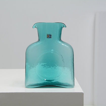 Art Glass Double Spout Pitcher (#384) - Blenko, c. 1980s