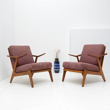 Sculptural Lounge Chair (2 avail) - Hans Brockmann Petersen, Komfort, c. 1955