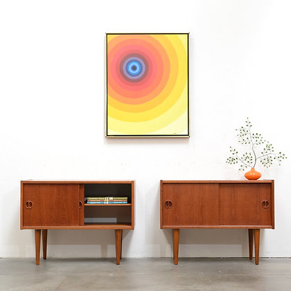 a pair of Danish Modern Compact Credenzas
