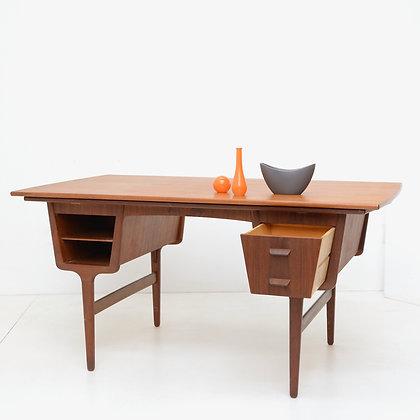 Expanding Partners Desk,  Carl Aage Skov, Munch Møbler, Denmark, 1960s