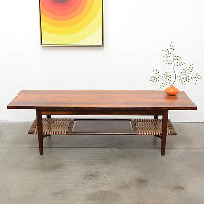 Danish Modern Rosewood Coffee Table