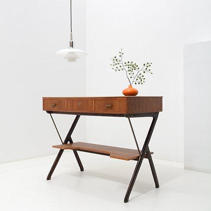 Entry Table / Vanity /Writing Desk,  Sweden, c. 1950s