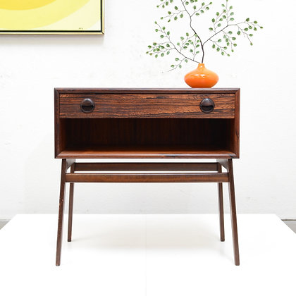 Danish Modern Rosewood Night Stand / Side Table