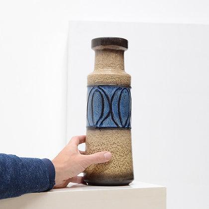 """""""Leaf"""" Vase (model 205-32) - Scheurich, West Germany, c. 1960s"""