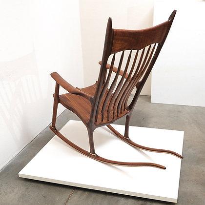 American Studio Craft Rocking Chair (a Sam Maloof Design)
