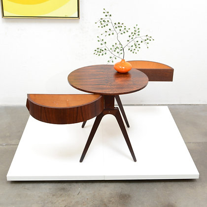 Danish Modern Rosewood Butterfly Table