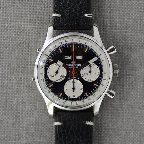 Wakmann Triple Date Chronograph c. 1960s