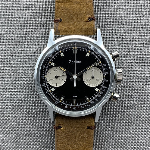 "Zodiac ""Reverse Panda"" Chronograph ref: 7721, c. 1960s"