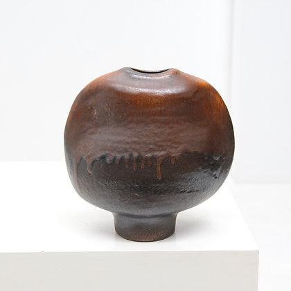 """Large Pinched """"Objeckt"""" Vase - Heiner Balzar, Steuler, c. 1960s"""