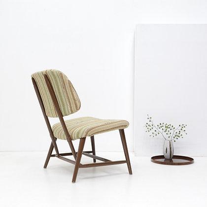 """Teve"" Fireside Chair - Alf Svensson,  Ljungs Industrier,  Sweden, c. 1950s"
