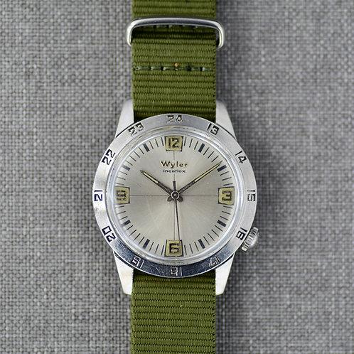 Wyler Incaflex 24 Hour / GMT c. 1970s