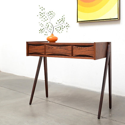 Danish Modern Rosewood Entry Table - Arne Vodder (attrib)