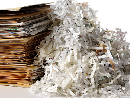 GDPR – Confidential Shredding Services for a Modern Time