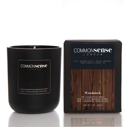 Woodstock Monochrome Candle