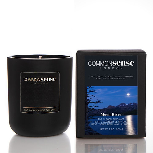 Moon River Monochrome Candle