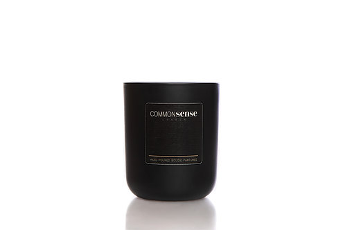 Dark Academia Monochrome Candle