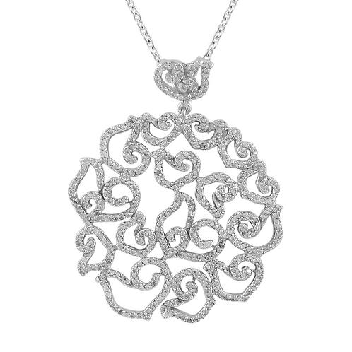 .925 Circle Filigree Necklace