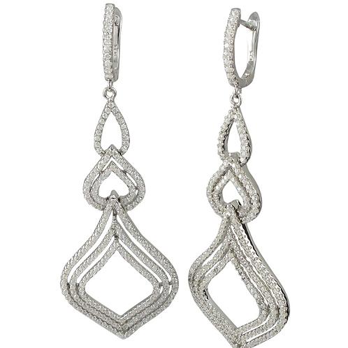 .925 Classic Open Earrings