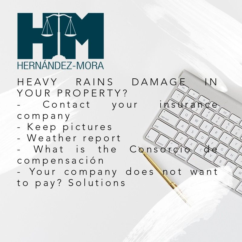 When heavy rains damage your property
