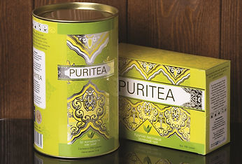 """PURITE"" зеленый чай"