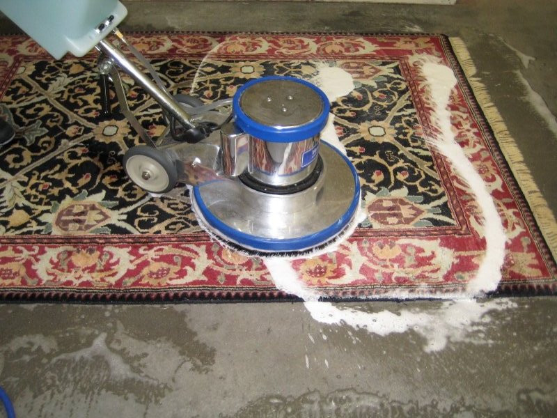 carpet-dry cleaning