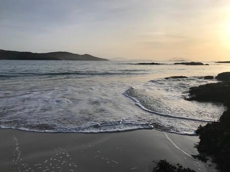 Evening at Hushinish beach