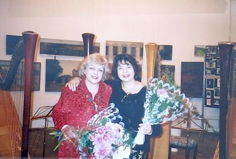 With Milda Agazarin