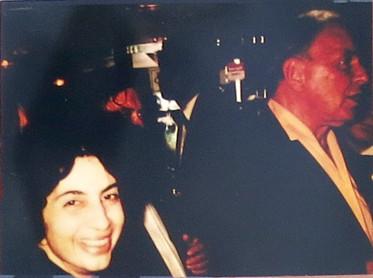 With Frank Sinatra