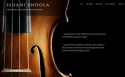 ishani bhoola violin