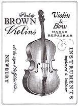 philip brown violins
