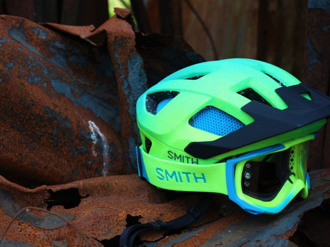 SMITH SESSION HELMET AND FUEL V2 GOGGLE - KIT TEST