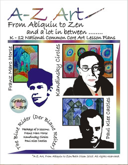 A to Z Art Lesson Cover