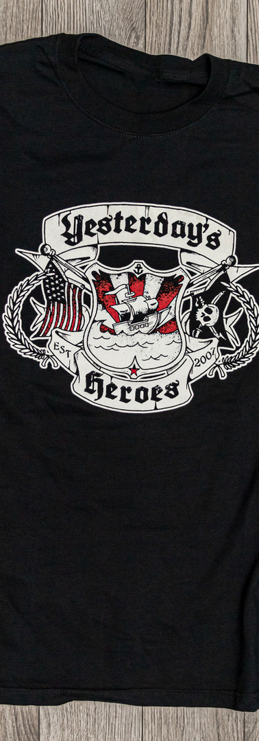 Yesterday's Heroes - Crest