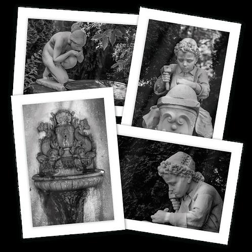 Fuller Gardens Greeting Card Quartet