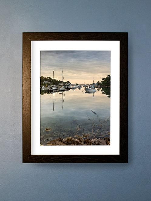 York Harbor Sunrise (Open Edition)