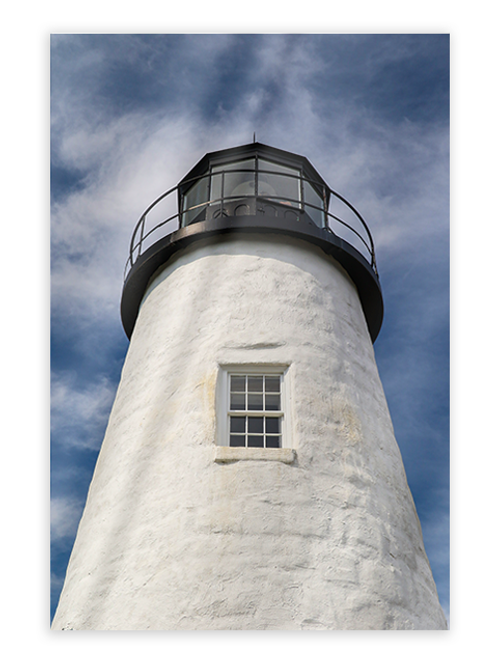 Pemaquid Light Greeting Card #2