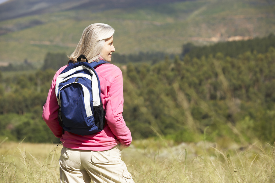bigstock-Senior-Woman-On-Hike-Through-B-92546579