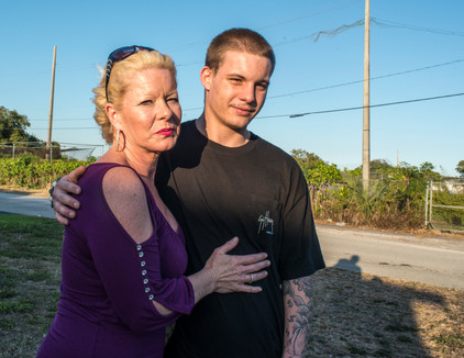 Mother and Son, West Hollywood Fl, 2011