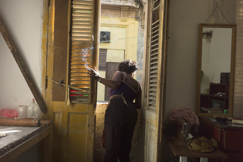 Smoker, Havana 2011