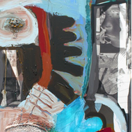 Imbedded Series, Carly collage,2014