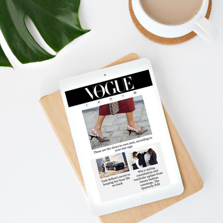 The Quarterly Edit x Vogue Australia