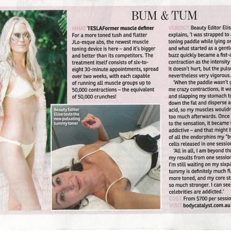 Body Catalyst featured in OK! Magazine