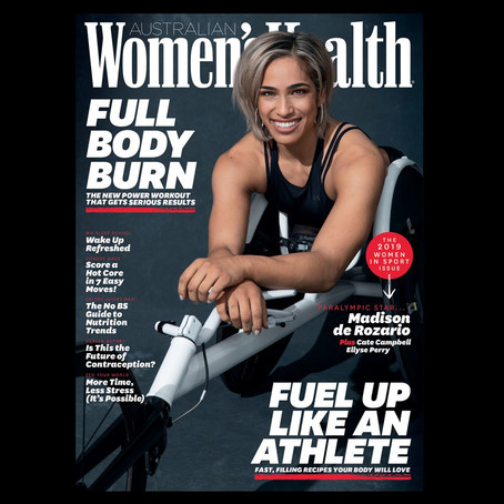 Womens Health introduce the 2019 Women in Sport issue