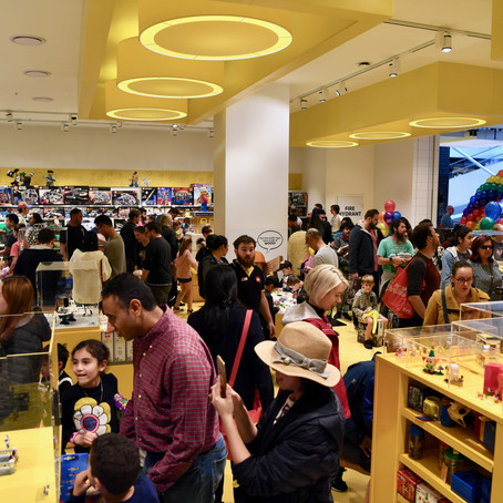 LEGO Certified Store Launch Wrap